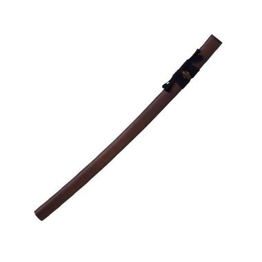 John Lee red wood iaito, short