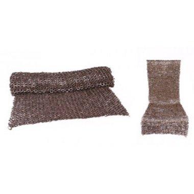 Gonna di cotta di maglia, anelli misti, 6 mm