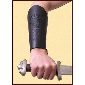 Par de brazales con martillo Thor