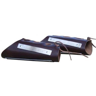 Leer-staal armbeschermers
