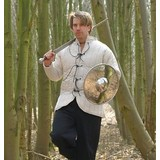 Short gambeson with laces
