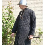 Long gambeson with leather lace