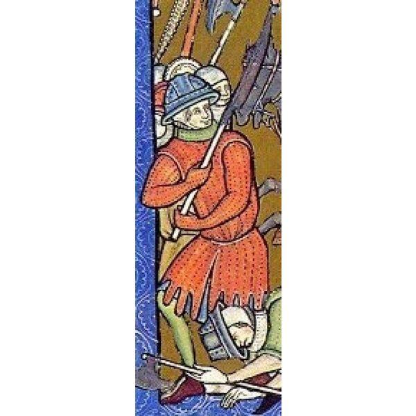 Ulfberth Gambeson lungo con lacci di cuoio