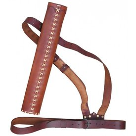 Luxurious quiver with belt
