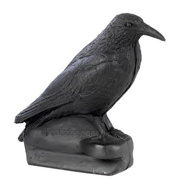 FB 3D corbeau assis