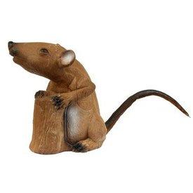 Rat musqué debout  en 3D