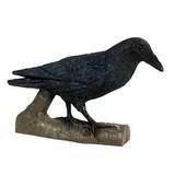 FB 3D cuervo en un palo
