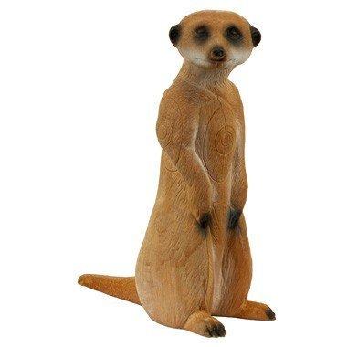 3D standing meerkat
