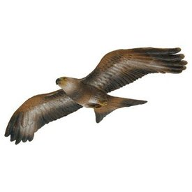 3D flying red kite