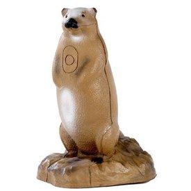FB 3D marmot met basis
