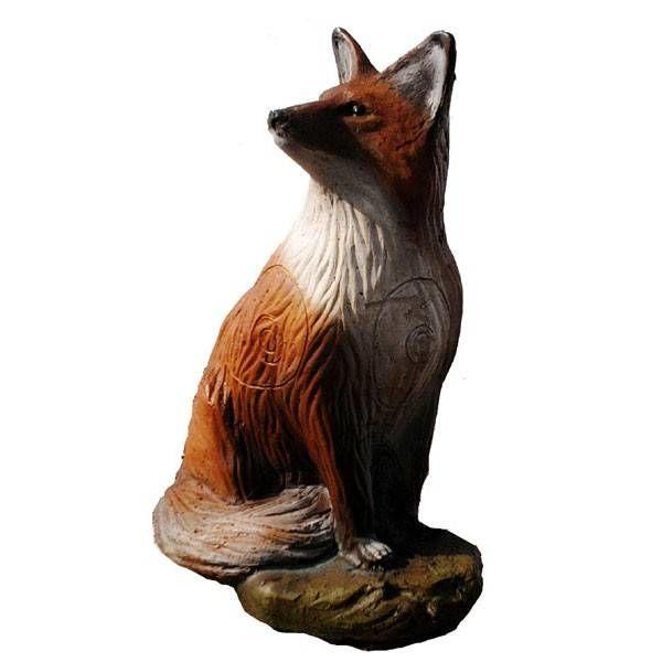 IBB 3D zittende vos