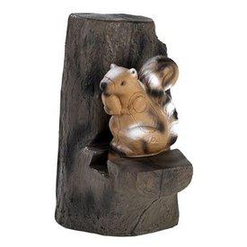 Ecureuil dans un arbre FB en 3D
