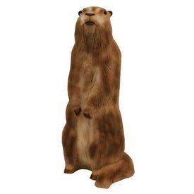Marmotta in piedi 3D