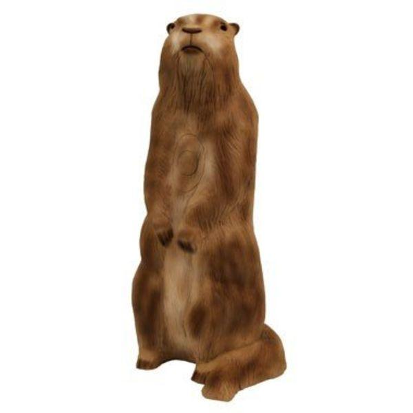 3D stående marmot