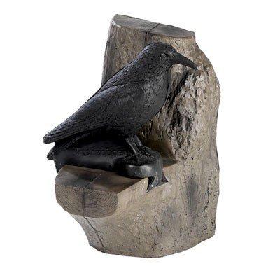 FB 3D corbeau dans un arbre