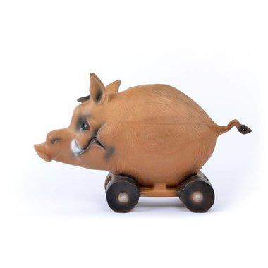 3D varken op kar