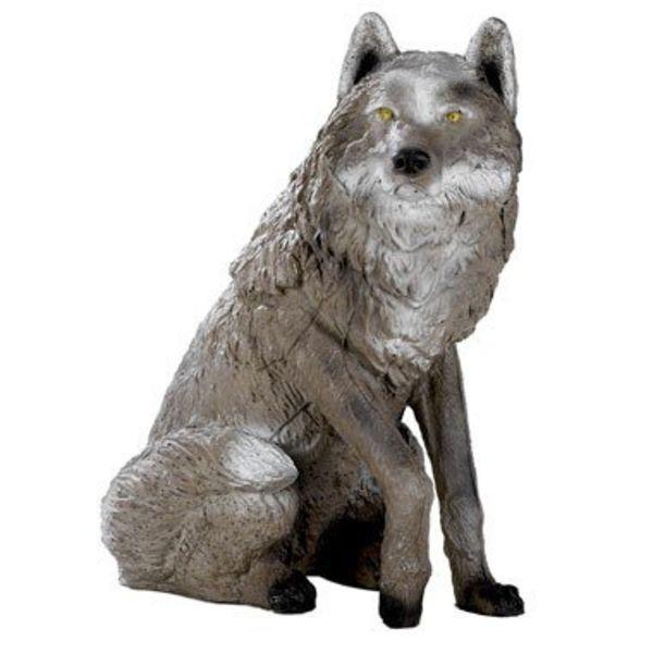 FB 3D sitting wolf