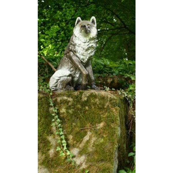 FB 3D lobo sentado