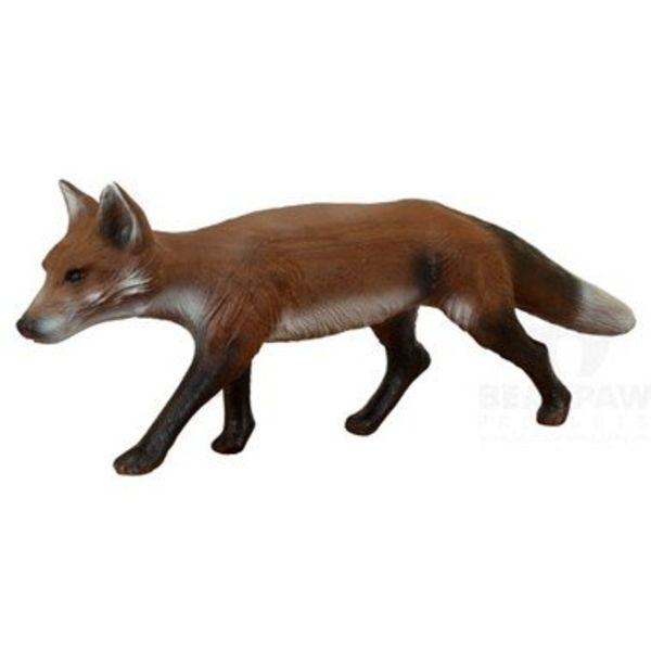 3D running fox
