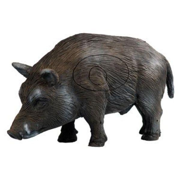 3D standing boar