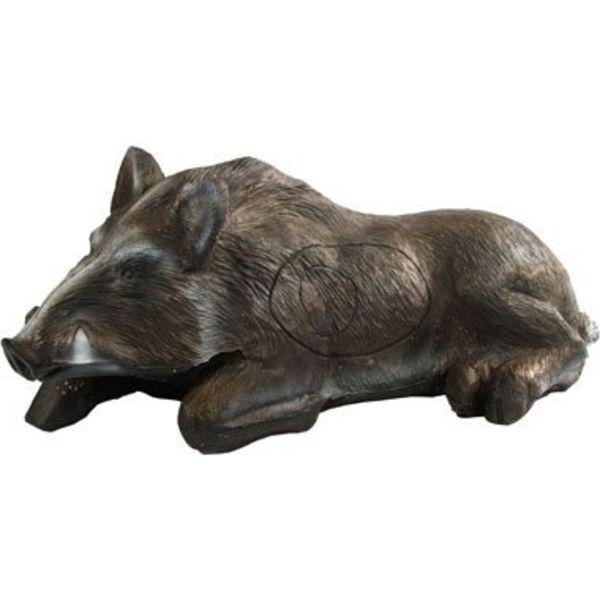 3D rustend zwijn