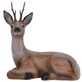 3D sitting stag