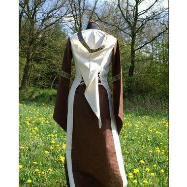 Vestido Boann (marrón-blanco)