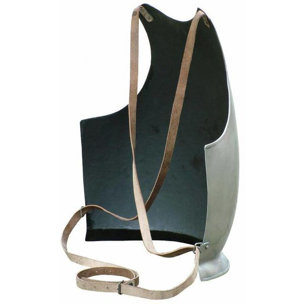 Breastplate with leather straps