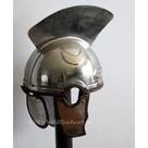 Casque à crête de centurion romain, de type Intercisa IV