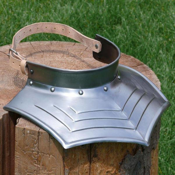 Gorget with Maltese cross