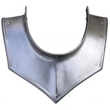 Ribbed gorget