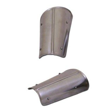 Canons d'avant-bras (brassards), en acier