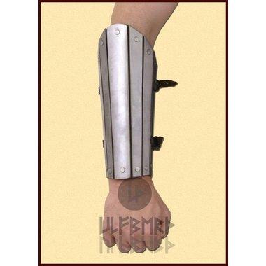 Stalen onderarmbeschermer