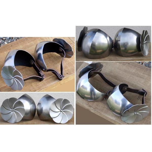 Albuerustning med roundels