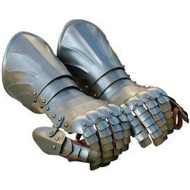 Panserhandsker med ribben