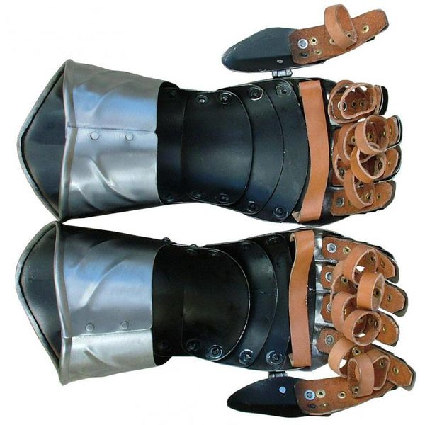 Gauntlets with ribs