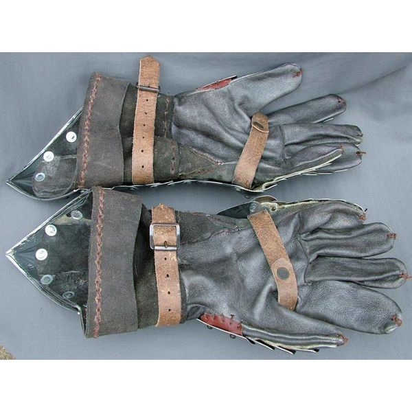 Gotische pantserhandschoenen basis