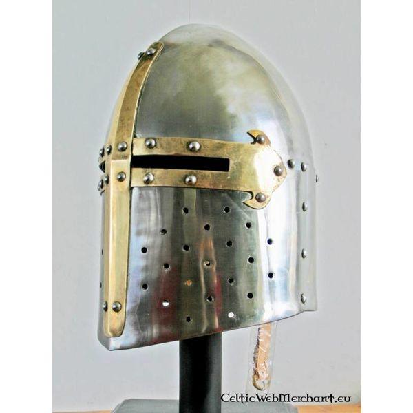 Marshal Historical Grande elmo francese (del XII-XIII secolo)
