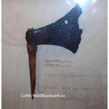 Hache type danois (Sparth), musée de Dublin