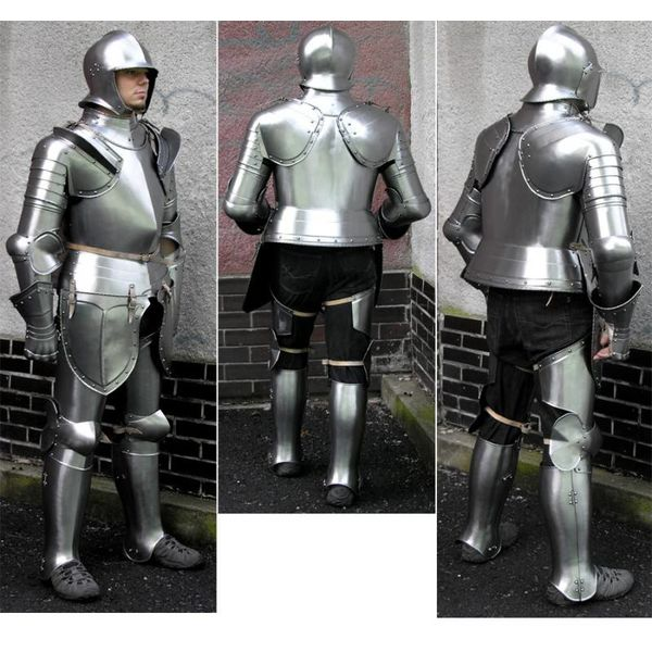 Armatura completa tedesca del tardo XVI secolo