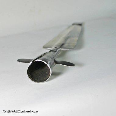 Battle-ready speerpunt met vleugels