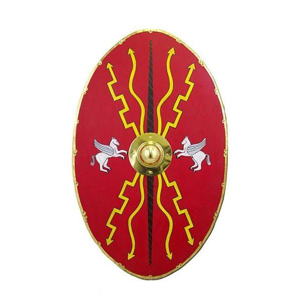Deepeeka Bouclier ovale d'auxiliaire romain