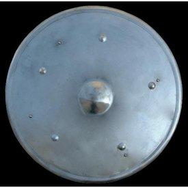 Stål runde skjold, 55 cm