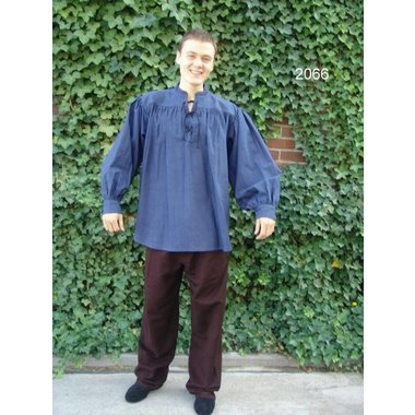 Camisa ancha con cuello