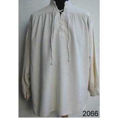 Large chemise à col