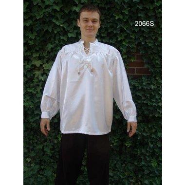 Camicia ampia con colletto