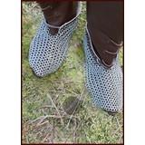 Escarpes cota de malla, galvanizada, 8 mm