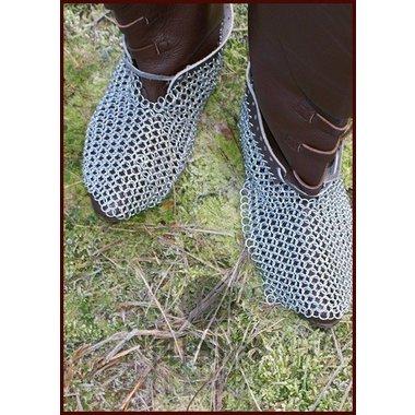 Escarpes Cota de malla, chapada en zinc, 8 mm, oferta especial!