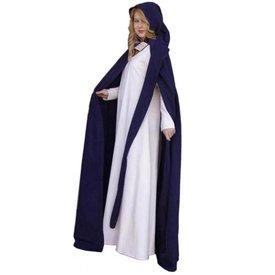 Mantel met lange kap