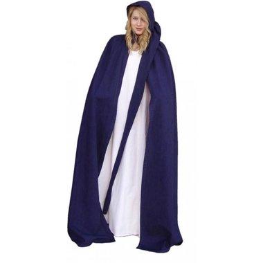 Cloak with long hood